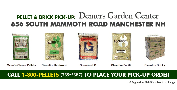 Wood Pellet Pick Up in Manchester NH