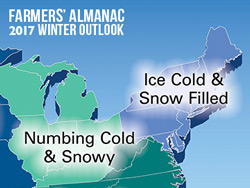 Common winter weather lore blog for Farmer s almanac 2017 winter forecast