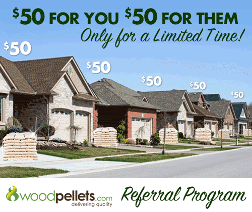 Woodpellets.com Referral Program
