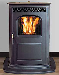 The Harman Accentra Pellet Stove is a high performance pellet stove