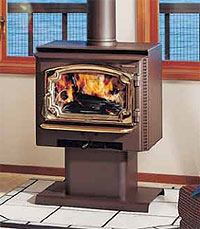 Lopi Answer Wood Stove Features and Specifications