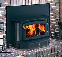 regency classic i12400 wood insert enjoy beautiful wood heat in your