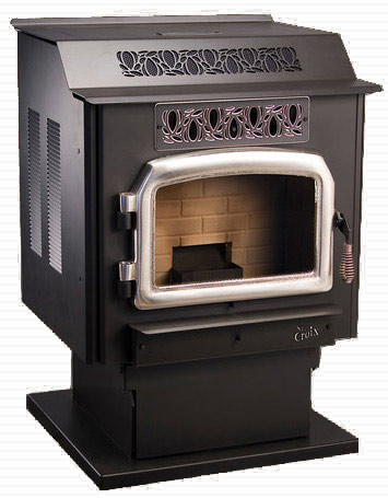 St. Croix Prescott Exp Pellet Stove Features and Specifications