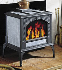 Woodstock Soaptone Keystone Wood Stove Features And