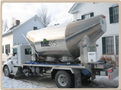 Maine Energy Systems Bulk Delivery Truck