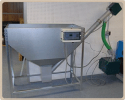 500 lb. Wood Pellet Hopper