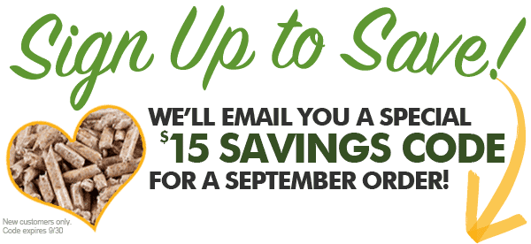 Save $15 On Your First Order with Us!