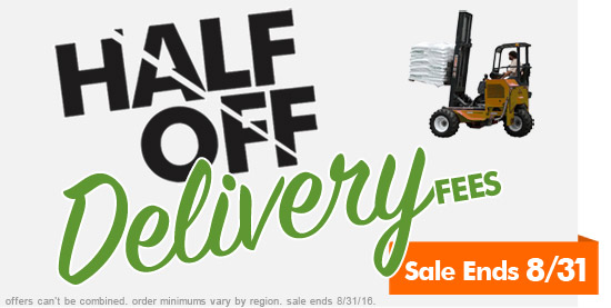 Half Off Your Delivery Sale