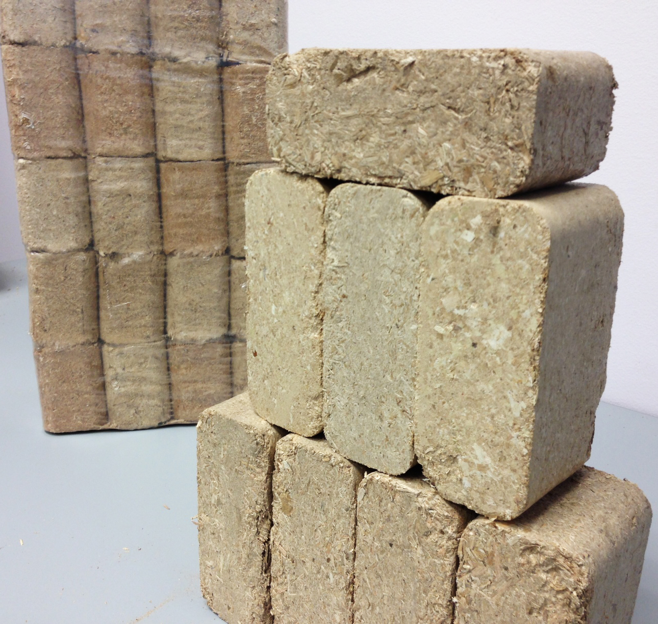 Wood Bricks The Hotter Cleaner Alternative To Cord Wood