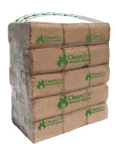 Cleanfire Wood Bricks: A convenient cord wood alternative with a higher heat output.