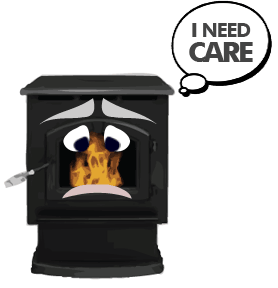 Your Pellet Stove Needs Care