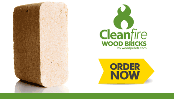 Cleanfire Wood Bricks