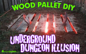 Wood Pallet Repurpose Project for Halloween Decoration