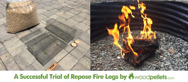 You Can Burn Wood Pellets In A Fire Pit Using This Invention Woodpellets Com Blog