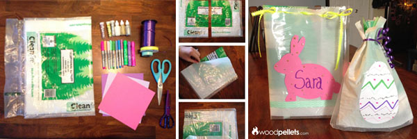 How to Make DIY Goody Bags Using Empty Wood Pellet Bags
